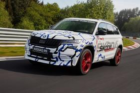 Skoda Kodiaq RS Sets Nurburgring Lap Record for a 7-Seater SUV
