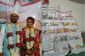 A Couple From Maharashtra is Setting Up a Library With The Books They Got as Wedding Gifts