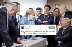 This Photo of Trump Surrounded By World Leaders at G7 Summit Has Caught the Imagination of the Web
