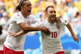 FIFA World Cup 2018: Eriksen Stunner Cancelled Out as Australia Hold Denmark