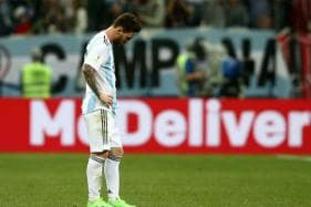 FIFA World Cup 2018: Messi Feels Pain as Dream Turns to Nightmare