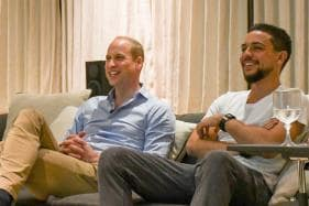 Royal Replay: Prince William Watches England Thrash Panama in Jordan Crown Prince's 'Man Cave'