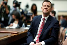 'FBI Lover' Agent Rejects Donald Trump Bias Charges in Stormy Hearing