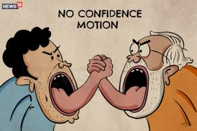 In Cartoons: Unfolding Of War And Peace Between Rahul And Modi Over No-confidence Vote