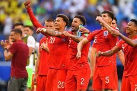 In Pics, Sweden vs England, FIFA World Cup 2018, Quarter-final