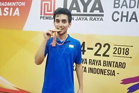 Lakshya Sen Clinches Gold at Badminton Asia Junior Championships