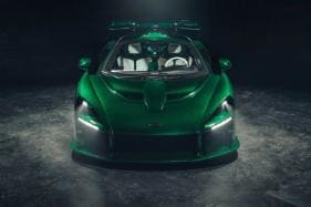 First McLaren Senna Delivered in America, Sports Custom Emerald Green Tint
