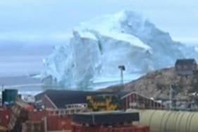 Watch: Mega Iceberg Threatens Greenland