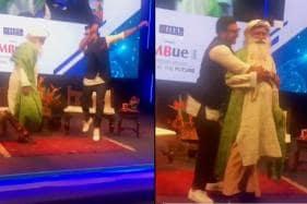 Ranveer Singh's 'Happy Dance' with Spiritual Leader Sadhguru Is All Positive Vibes