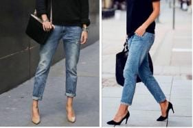Here's How to Style Your Boyfriend Jeans in Smart Ways