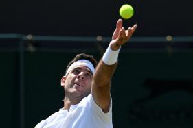 Wimbledon: Del Potro Rides Big Serve Into Wimbledon Round Two
