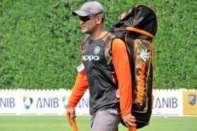 India vs Australia: Dhoni Gets Hit on Forearm During Net Session