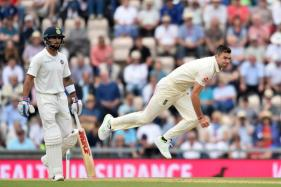 Anderson Fined for Showing Dissent at Umpire Decision