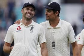 Anderson Hailed by Cook As 'England's Greatest Cricketer'