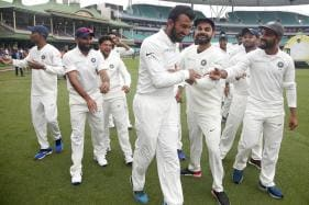 India Celebrate Historic Series Win with the 'Pujara Dance'