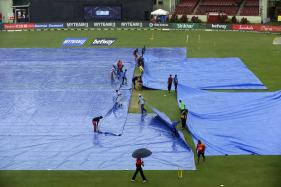 India vs West Indies   Persistent Rain Forces Washout After 13 Overs