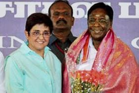 Lt Guv Kiran Bedi Expresses Happiness as Puducherry CM Ends Dharna