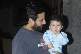 Saif Ali Khan on Taimur Getting Extra Media Attention: Our Job is to Keep Him Balanced