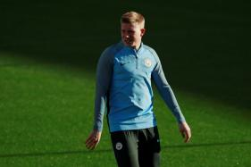 Man City's Kevin De Bruyne Suffers Knee Injury in Training