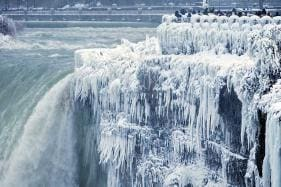Song of Ice and Fire: Niagara Falls Freeze Over, Social Media Feels the Burn as Pics Go Viral