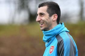 Arsenal's Henrikh Mkhitaryan Out for Six Weeks