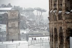Winter Storm Blasts Europe; 12 Dead Amid Heavy Snow, Gusts