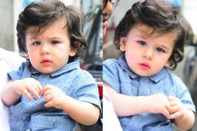 Taimur Ali Khan Trying to Talk to Paparazzi is the Cutest Thing on the Internet Today; Watch Video