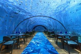 Maldives Underwater Restaurant Holds World's First Yoga Class Below Sea Today