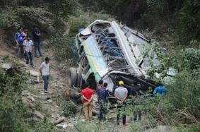 At Least 11 Killed After Bus Falls in Yamuna River In Uttarakhand