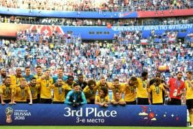 Belgium Take Outright Top Spot in FIFA Rankings, India Stay at 97