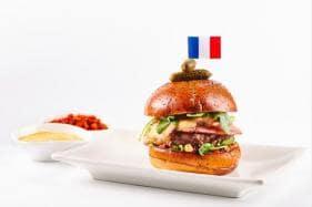 Chef Daniel Boulud Creates 'Umami Frenchie' Burger for Bastille Day