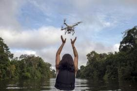 Amazon Wildlife Now get Rescued by Drones, As Rainforest Faces Seasonal Floods