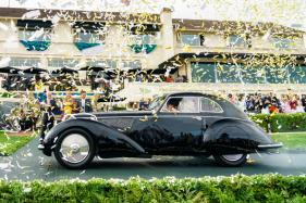 1937 Alfa Romeo 8C Crowned Best of Show at the 2018 Pebble Beach Concours D'elegance