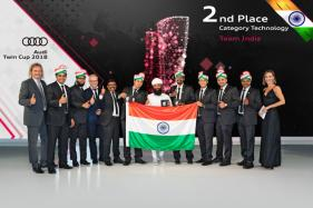 Audi India Team Secures Second Place in Technology Category at 2018 Audi Twin Cup