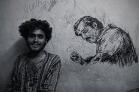 Pondicherry Univ Student Raises Rs 2 Lakh for Kerala Floods By Sketching Portraits for Donors