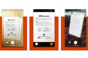 Microsoft Office Lens App Gets Text Annotations on iOS, Android