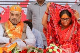 Amit Shah Flags Off Vasundhara Raje's Poll 'Yatra', Attacks Cong for Lack of Development 'Over Four Generations'