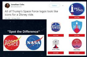'Is That From Toy Story?' Twitter Has Ideas for Trump and His 'Space Force' Logo