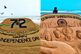 This Independence Day, Padma Shree Winner Sudarsan Pattnaik is Giving an Artistic Tribute To India
