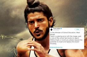 Not That Milkha: Farhan Akhtar, Twitter School Mamata Govt Over Wrong Photo in Textbook