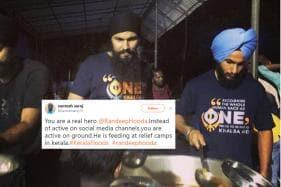 'Real Heroes Work on Ground': Randeep Hooda Gets Applauded For His Unique Gesture to Help Kerala