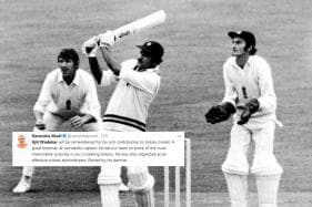 Narendra Modi, Sachin Tendulkar and the Internet are Mourning the Loss of Cricketer Ajit Wadekar