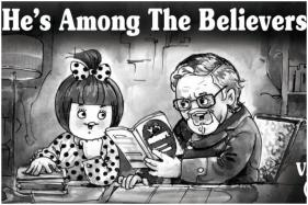 Amul Pays Tribute To VS Naipaul's Controversial 'Among the Believers'