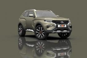 Lada Unveils 4x4 Vision concept at Moscow Motorshow 2018 in Russia