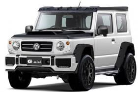Modified New Suzuki Jimny SUV Looks Like a Baby Mercedes-Benz G-Wagon