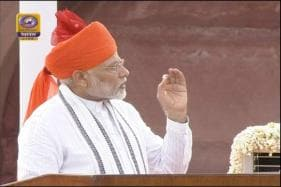 PM Modi Counts His Govt's Achievements from Ramparts of Red Fort