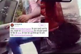 'Love For Kiki Has Vanished': UP Police Post Photo of Arrested Youth Taking #KikiChallenge