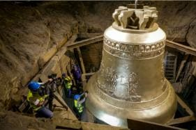 'Vox Patris' One of World's Largest Bells Unveiled in Poland
