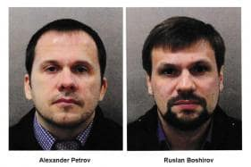 Skripal Suspects Say Were in UK as Tourists, Deny Murder Attempt