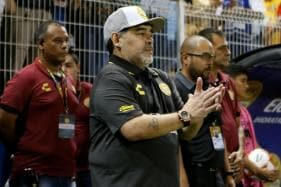 Angulo Hat-trick Helps Maradona Get off to Winning Start in Mexico